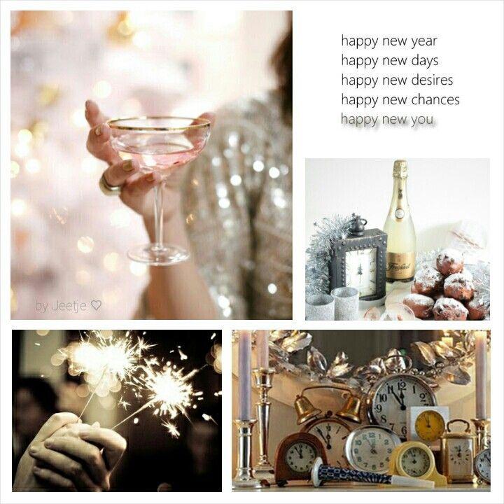 Happy New Year! Moodboard by Jeetje♡: Happy new chances