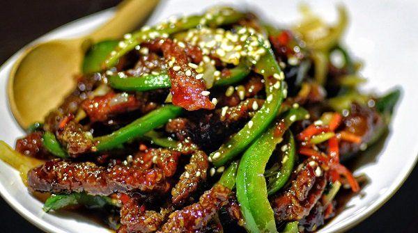 لحم سيشوان الصيني بالخطوات وصفة لكي Recipe Recipes Green Beans Food