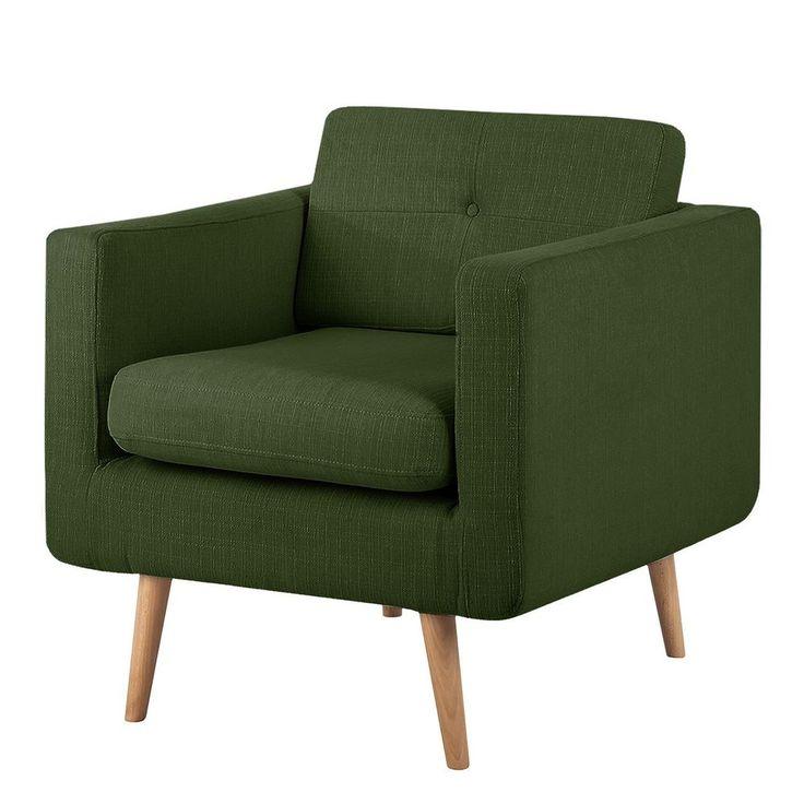Mørteens Sessel Croom Webstoff Grün Sessel ARMSESSEL RELAXSESSEL POLSTERSESSEL