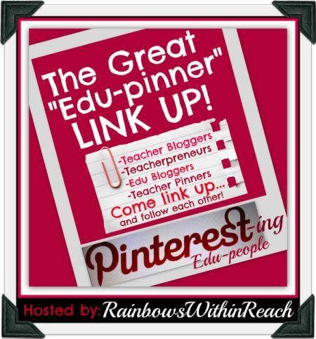 3 Pinterest Link-Ups: Edu Pinners, ECE Pinners, and Kinder Pinners! - to follow up at another time