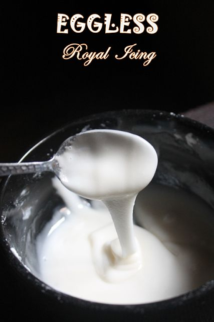 YUMMY TUMMY: Eggless Royal Icing Recipe - Cookie Glaze Recipe