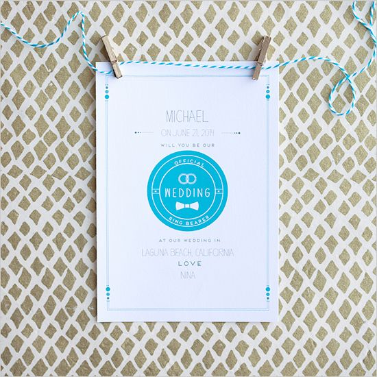free will you be my ring bearer cards