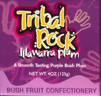 Bush Fruit Confectionery made with delicious soft centres filed with Australian native fruits [Illawarra Plums]  Illawarra Plum - a smooth tasting purple bush plum!!  [approximately 32 lollies per box]  Price: $6.00 each [incl GST]