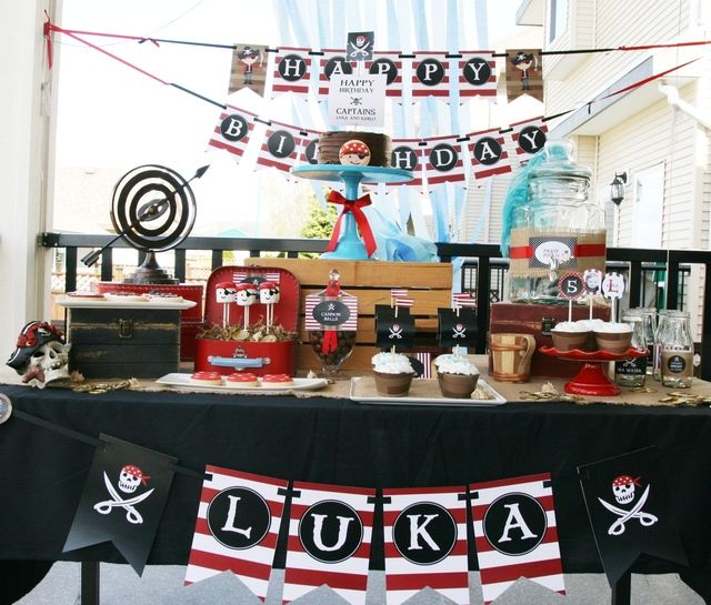 """Photo 8 of 21: Pirate Party / Birthday """"It's a Pirate's Life"""" 