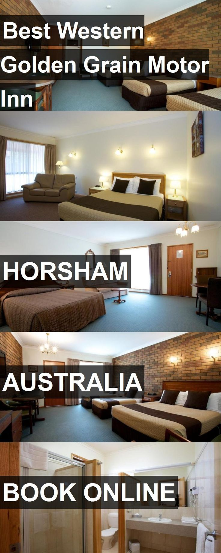 Hotel Best Western Golden Grain Motor Inn in Horsham, Australia. For more information, photos, reviews and best prices please follow the link. #Australia #Horsham #travel #vacation #hotel