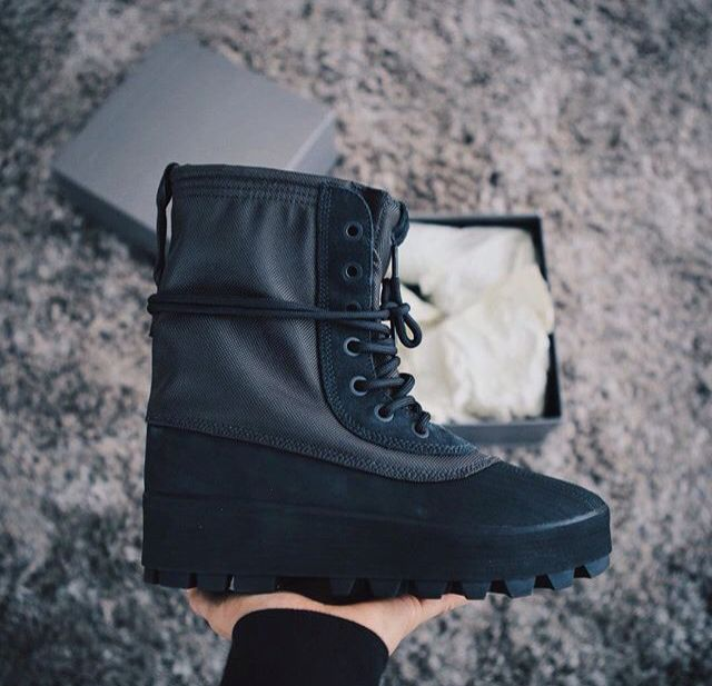 Adidas Yeezy 950 Boot in pirate black. #yeezyseason1