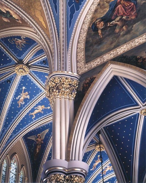 Basilica of the Sacred Heart, University of Notre Dame - Restoration - Portfolio Of Restoration & Original Design | Conrad Schmitt Studios Inc.