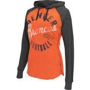G-III Women's Denver Broncos Play Clock Orange Pullover Hoodie