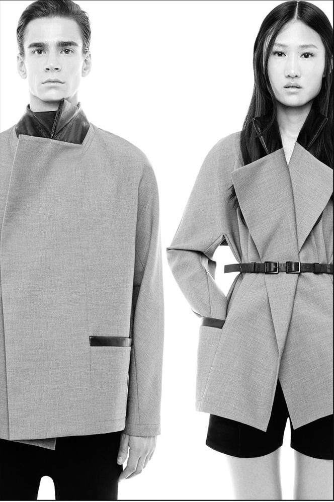 UNISEX / Rad Hourani Ready To Wear Spring Summer 2015 Paris