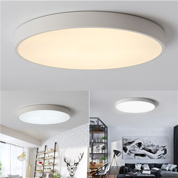 12w 18w 24w Warm Cold White Led Ceiling Light Mount Fixture For