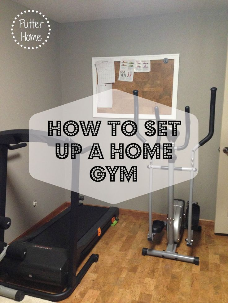Putter Home | How To Set Up A Home Gym or Home Exercise space! #diabetessucks Home Gyms - http://amzn.to/2hoGXRy