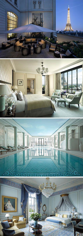 Een weekendje Shangri-La Hotel Paris, dat is nog eens een weekendje Parijs waar je u tegen zegt. Dit vijfsterren hotel beschikt over luxe kamers, een restaurant met Michelin-ster én gratis WiFi. Welkom in deze geweldige wereldstad!