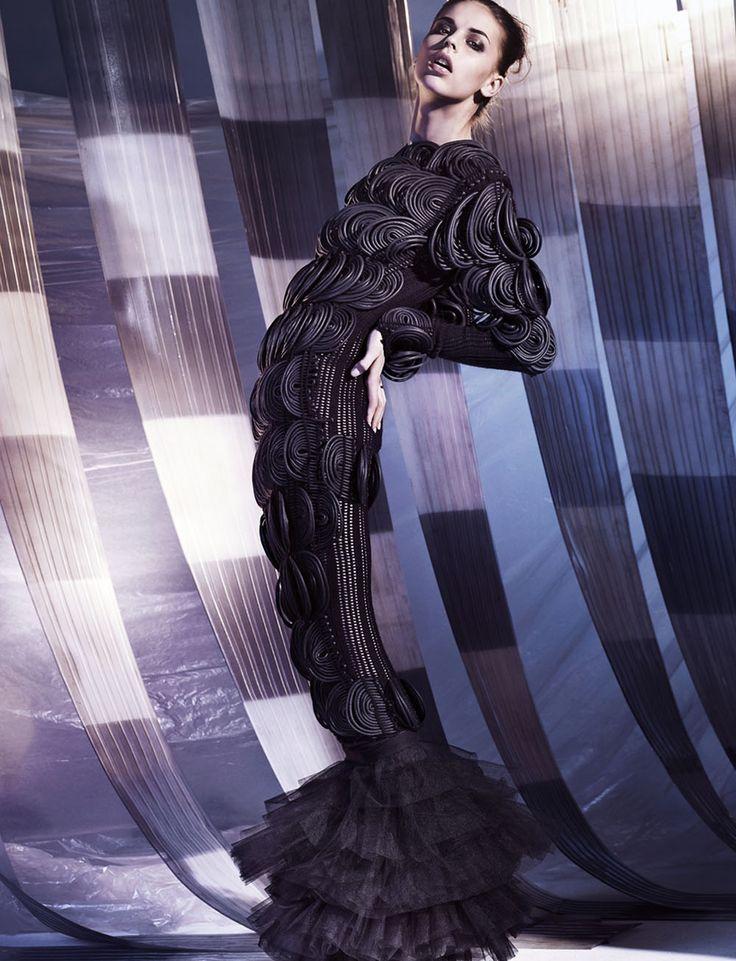 -Black dress: Derek Lawlor, black tutu: Dans La Vie, black sandals: DKNY
