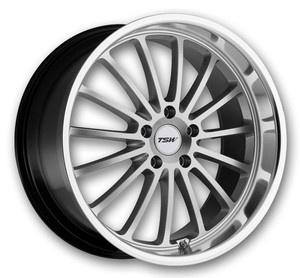 TSW Wheels Zolder 18x8 Silver High Offset (TSW-Rims-Zolder-18SH.s)
