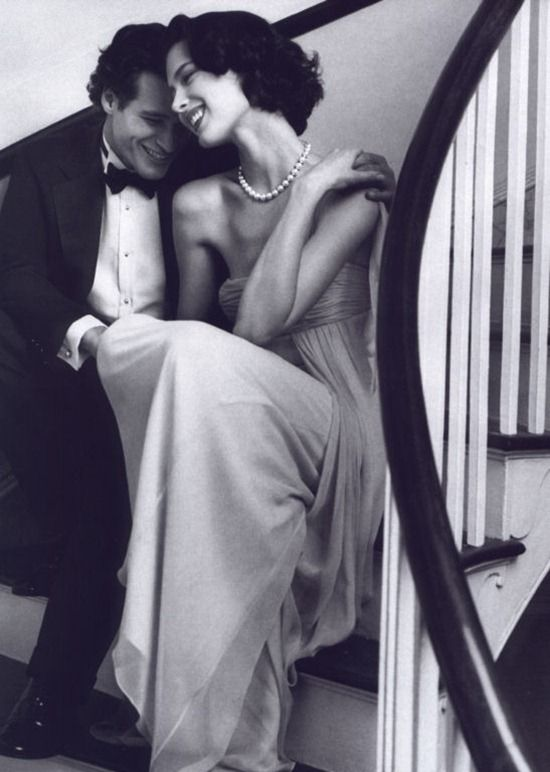 Shalom Harlow in Tiffany  Co campaign
