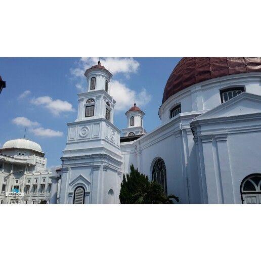Blenduk Church at Semarang,Central Java