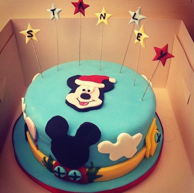 Stanley's Mickey cake!