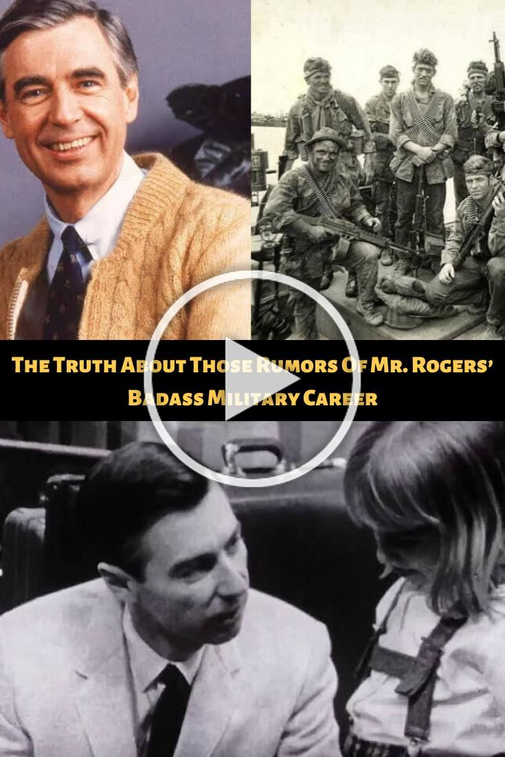 The Truth About Those Rumors Of Mr. Rogers' Badass