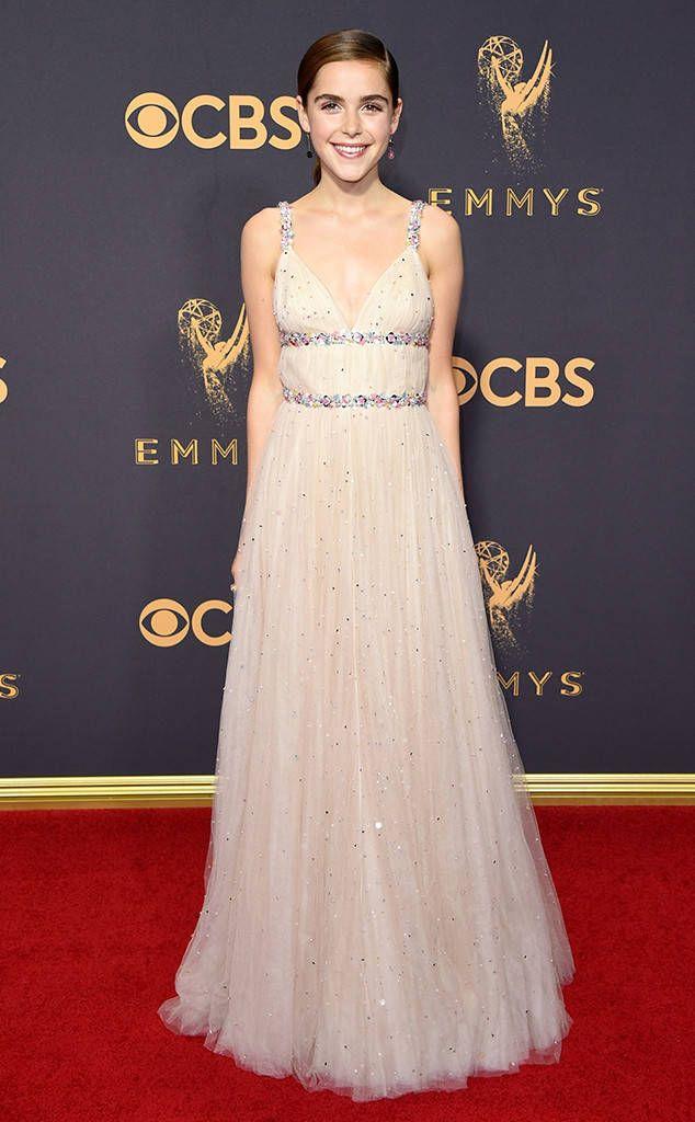Kiernan Shipka from 2017 Emmys Red Carpet Arrivals