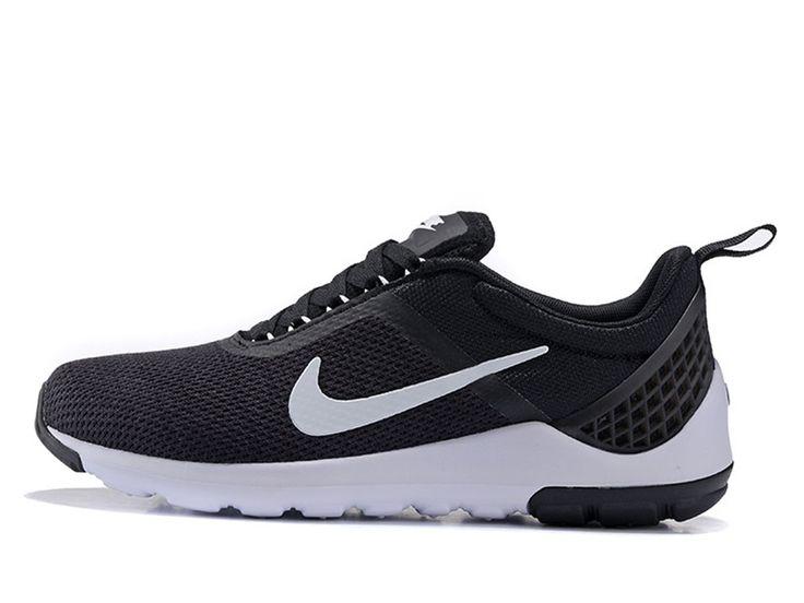 Nike Lunarestoa 2 Essential Chaussures Nike Running Pas Cher Pour Homme Noir / Blanc 811372-007