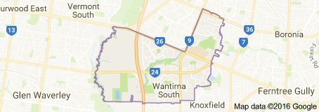 Wantirna South is a suburb in Melbourne, Victoria, Australia, 26 km east of Melbourne's central business district. Its local government area is the City of Knox, Wantirna South is a border suburb to City of Whitehorse and City of Monash.      |         Area: 13.4 km²         |     Population:  	17,477 (2011 census)              |     Postcode: 3152            | Federal division: Division of Aston