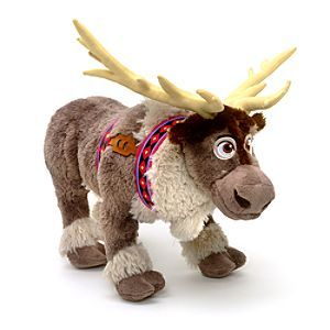 I recently saw the film frozen and I LOVED IT! This is the reindeer Sven. He is just so sweet!:)