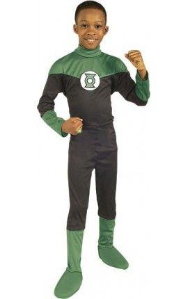 disfraz de linterna verde dc comics para nio