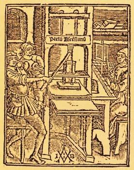 15 e eeuw - Boekdruk