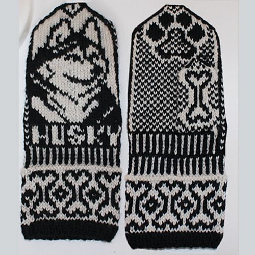 Ravelry: Husky mittens and hat pattern by Jorid Linvik http://www.pinterest.com/anrihakola/lapaset/