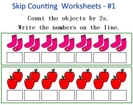 Kindergarten Skip Counting Worksheets Free
