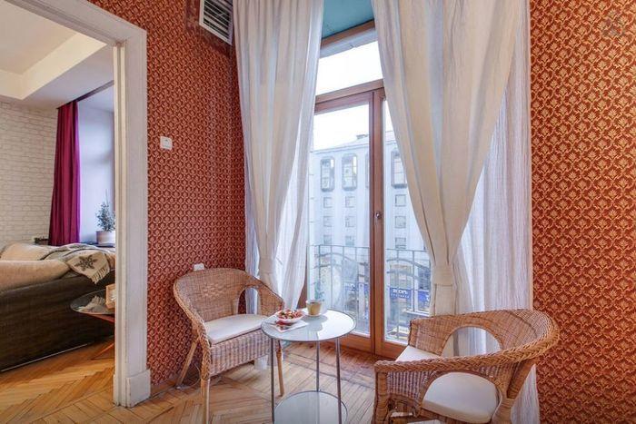 Ретро-квартира 56м² в центре Москвы – Вдохновение