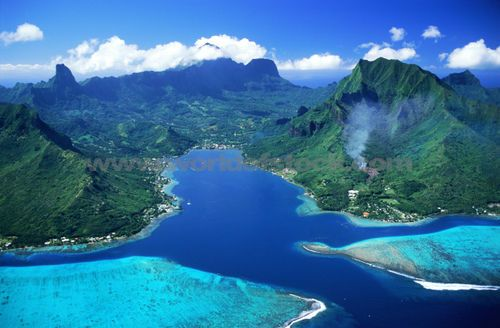 Cooks Bay - Island of Moorea in French Polynesia - this place is stunning, and took my breath away.