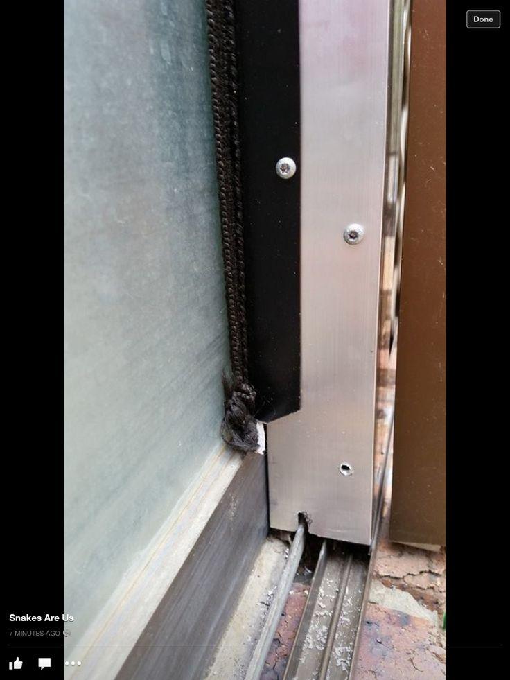 Snake proof Sliding Door mod 2