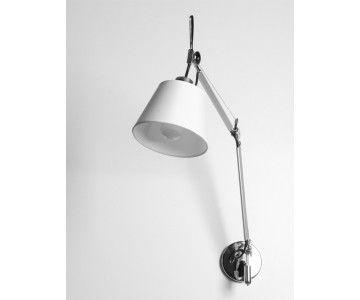 dost pny od r ki lampa kinkiet inspirowany projektem tolomeo dla artemide d ugie rami projekt. Black Bedroom Furniture Sets. Home Design Ideas