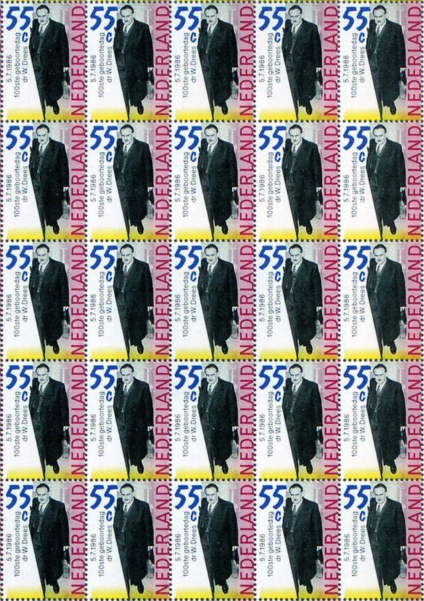 jan van toorn PTT stamps