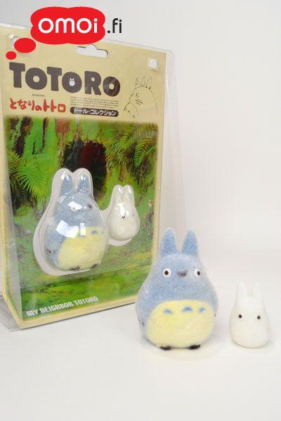 Totoro figuurit: sininen ja valkoinen - 16,00EUR : Omoi.fi, anime, manga ja cult oheistuotteiden verkkokauppa