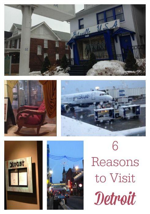 6 Reasons to Visit Detroit #familytravel from Visit Detroit