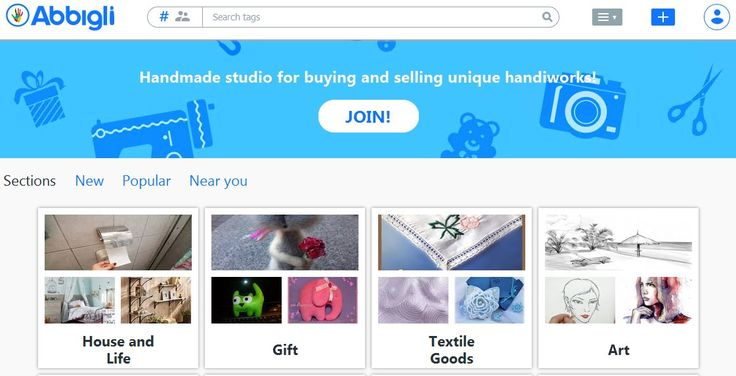Abbigli- handmade studio for buying and selling unique handiworks!  Buy and sell handmade or vintage items, art and supplies on Abbigli, the world's most vibrant handmade marketplace. Share stories through millions of items from around the world. #toreadmore https://abbigli.com/