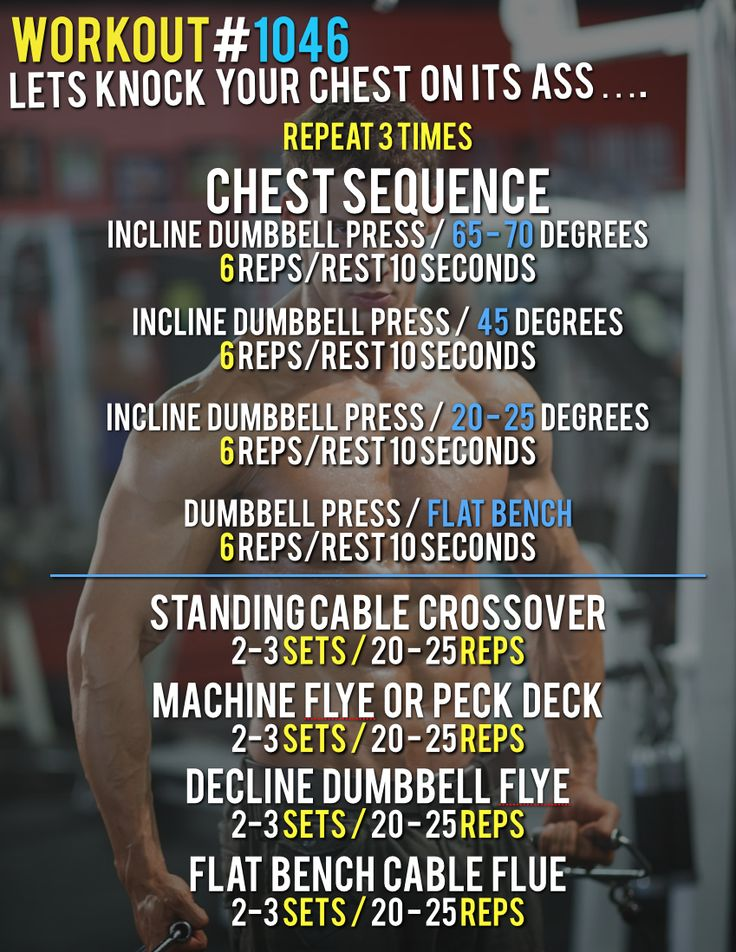 Workout #1046 - Killer Chest Workout