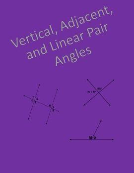 geometry worksheet vertical adjacent and linear pair angles angles geometry worksheets and. Black Bedroom Furniture Sets. Home Design Ideas