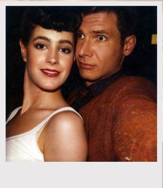 Blade Runner Polaroid, Young and Ford