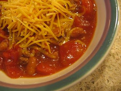 quick and easy chili | Recipes | Pinterest