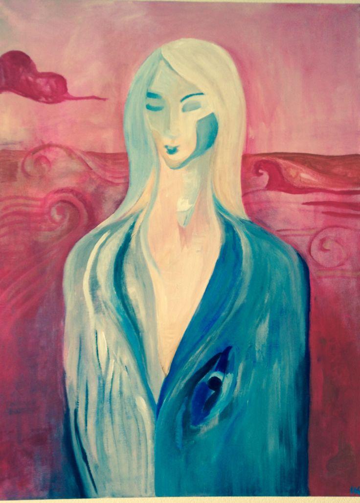 Bariel-acrylic, canvas #art #painting #acrylic