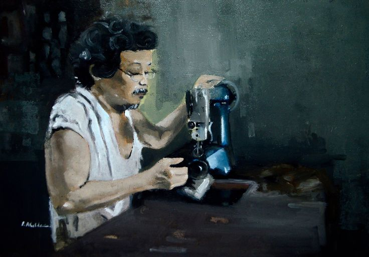 """Amigo"" 10 x 14 inches Oil on canvas. SOLD"