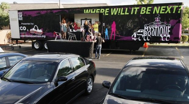 Charity launches mobile boutique