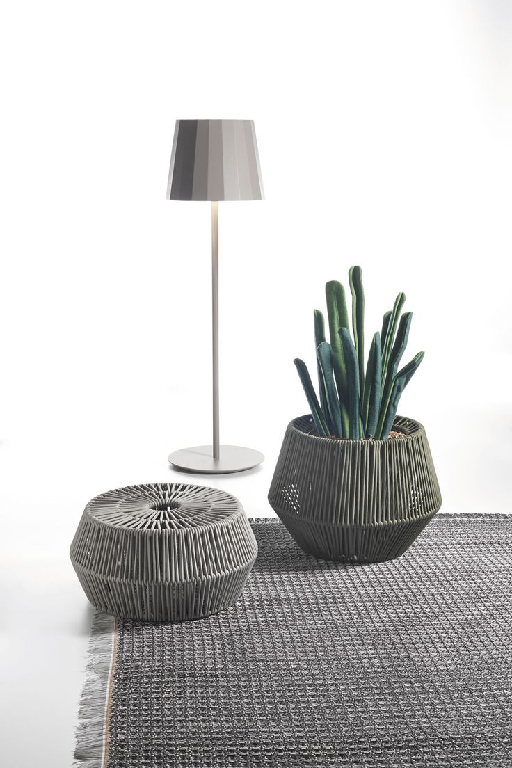 KETTAL OBJECTS  Outdoor lamp  ZigZag puff  Outdoor Indoor Rugs #IndoorRugs