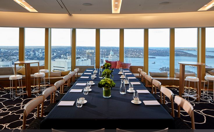 Not only does the Studio Sydney Tower have 220 degree views of Sydney and stand at a height of 309 metres, but it is also available as an event space. Lucky us! Flexible with space they are able to accommodate for a small intimate event or large team events of up to 200 delegates. Contact us now for more information!