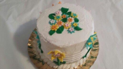 Raymbow cake