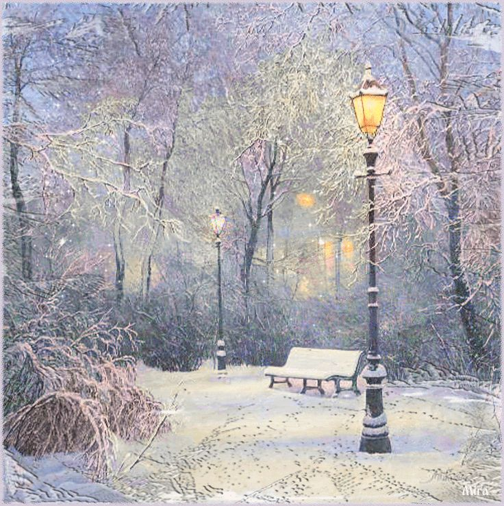 animated snow scenes