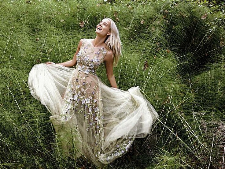 InStyle November 2015 Doukissa Nomikou in Konstantinos Melis by Laskos haute couture dress